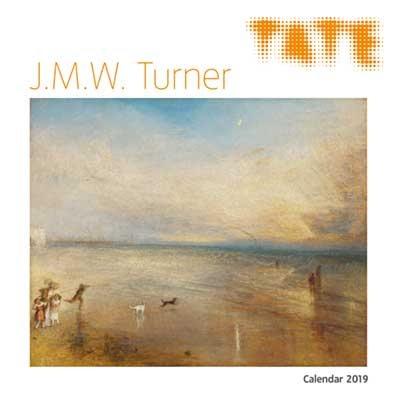 Tate - J.M.W. Turner Wall Calendar 2019 (Art Calendar) (Calendar)