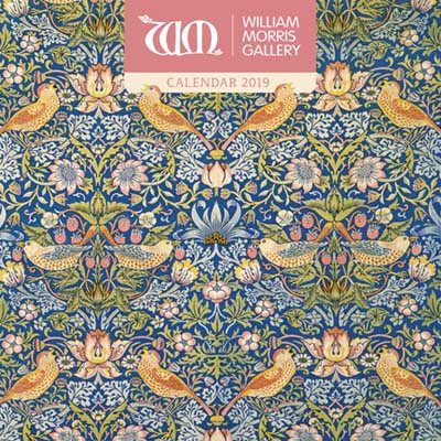 William Morris Gallery Wall Calendar 2019 Art Calendar By Flame