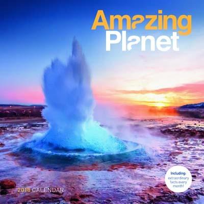 2018 Amazing Planet Wall Calendar (Calendar)
