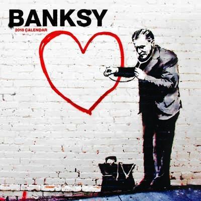 2018 Banksy Wall Calendar (Calendar)