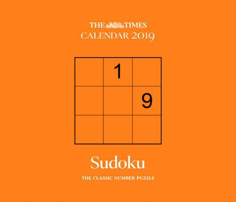 2019 the times sudoku box calendar waterstones