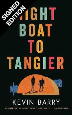 Cover of the book, Night Boat to Tangier.