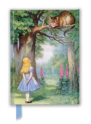 John Tenniel: Alice and the Cheshire Cat (Foiled Journal) - Flame Tree Notebooks