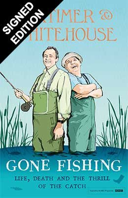 Cover of the book, Gone Fishing.