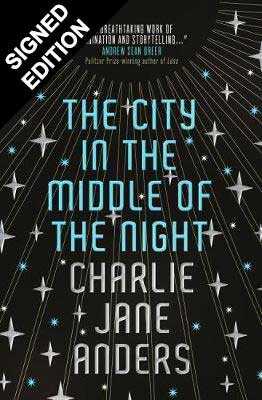 Cover of the book, The City in the Middle of the Night.