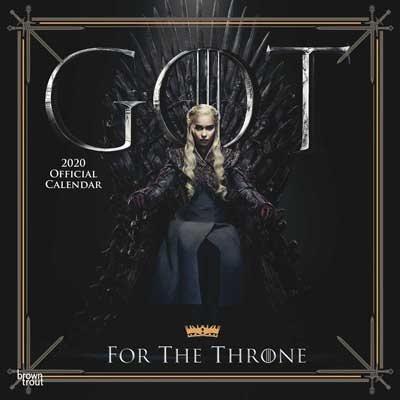 2020 Game Of Thrones Wall Calendar (Calendar)