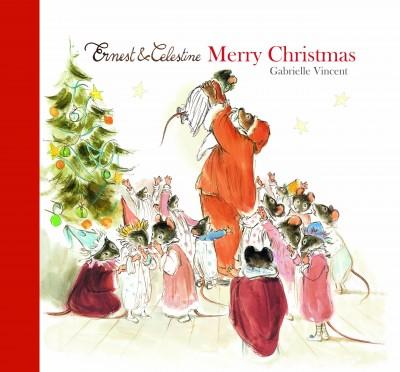 Merry Christmas - Ernest & Celestine (Hardback)