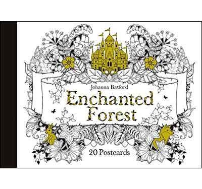 Enchanted Forest: 20 Postcards (Hardback)