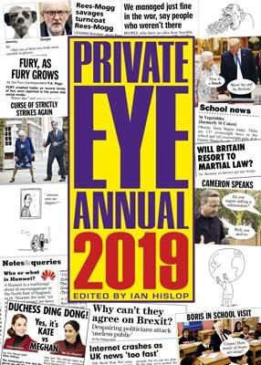 Private Eye Annual 2019 (Hardback)