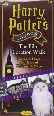 Harry Potter's London the Film Location Walk: Includes Three Self-Guided Walks with Maps (Sheet map, folded)