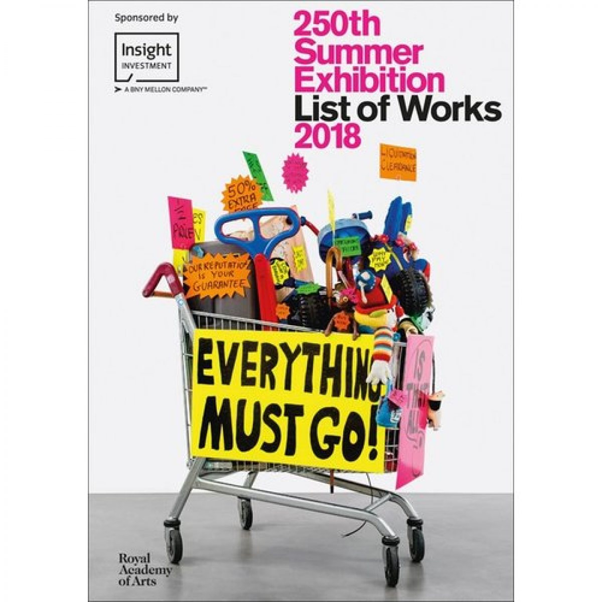 250th Summer Exhibition Illustrated 2018: List of Works (Paperback)