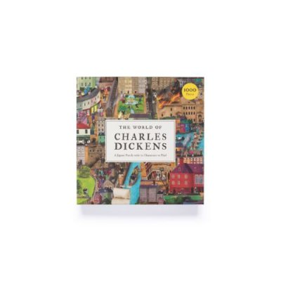 World Of Charles Dickens 1000 Piece Jigsaw Puzzle: A Jigsaw Puzzle with 70 Characters to Find