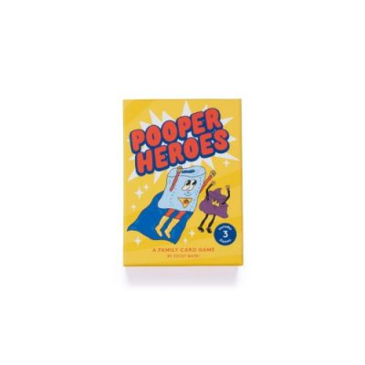 Pooper Heroes : A Family Card Game