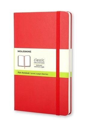 Moleskine Pocket Plain Notebook Red - Moleskine Classic