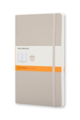 Moleskine Soft Cover Khaki Beige Pocket Ruled Notebook - Moleskine Classic