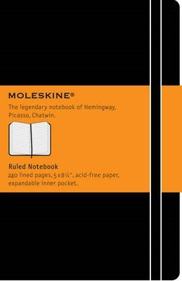 Moleskine Large Ruled Notebook - Moleskine Classic