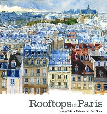 Rooftops of Paris - Sketchbooks (Hardback)