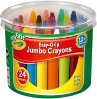 24 My First Crayola Jumbo Crayons