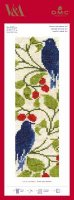 Bird & Berry Bookmark Cross Stitch Kit