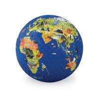 13Cm Rubber Playball World