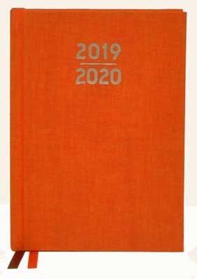 Waterstones Signature Orange Pocket Diary 2019-2020