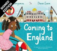 Coming to England: An Inspiring True Story Celebrating the Windrush Generation - Signed Bookplate Edition (Hardback)