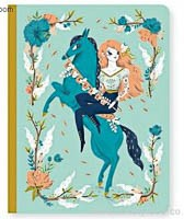 Large Fairy Horse Notebook