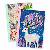 Deer And Bird Notebooks