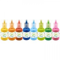 8 Bottles Of Poster Paint