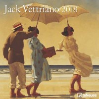 2018 Jack Vettriano Wall Calendar
