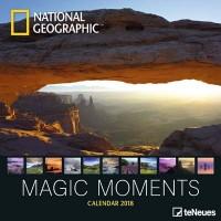 2018 National Geographic Magic Moments Wall Calendar