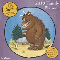 2018 Gruffalo Family Wall Planner