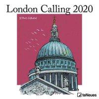 2020 London Calling Wall Calendar