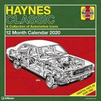 2020 Haynes Classic Cars Wall Calendar