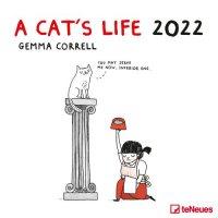2022 A Cats Life Gemma Correll Wall Calendar