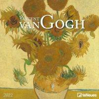 2022 Van Gogh Sunflowers Wall Calendar