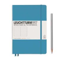 Nordic Blue Medium Dotted Notebook