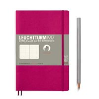 Berry Paperback B6+ Dotted Notebook Softcover