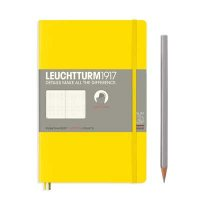 Lemon Paperback B6+ Dotted Notebook Softcover
