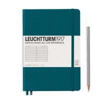 Pacific Green Medium Ruled Notebook