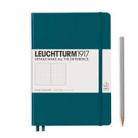 Pacific Green Medium Dotted Notebook