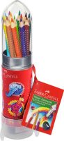 Colour Grip Rocket 15 Pencils and Sharpener
