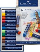 Creative Studio Oil Pastels Box Of 12