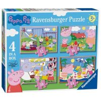 Peppa Pig 4 In 1 Puzzle