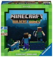 Minecraft Builders and Biomes Board Game