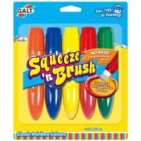 5 Classic Colours Squeeze N Brush
