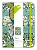 Voysey Owl Elasticated Journal
