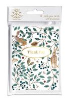 Dee Hardwicke Hares And Berries Thank You Cards