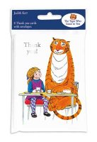 Tiger Who Came To Tea Thank You Cards