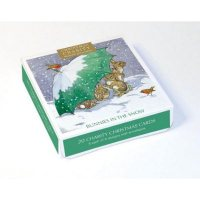 Rabbits Charity Box X20 Christmas Cards